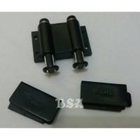 harga Kunci Lemari Kaca Push Open Magnet Double Hitam (1 Set) Tokopedia.com