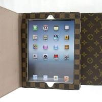 harga Case Ipad 2/3/4 Louis Vuitton Folio Book Cover Leather Tokopedia.com