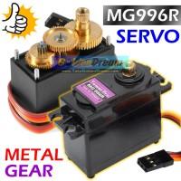 Motor Servo MG996R Metal Gear Tower Pro Digi Hi Torque + Accessories