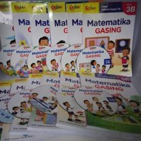buku Matematika Gasing SD kelas 1-6 Prof Yohanes Surya