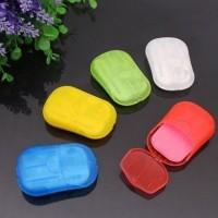 Sabun Cuci Tangan Kertas Travel Paper Soap Travelling Kecil Mini Hand