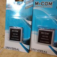 baterai zte v811w dobel power mcom 5000mah biasa untuk hp gojek awal