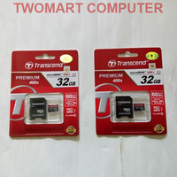 harga Micro SD 32GB Class 10 UHS-1 Transcend premium memory card Tokopedia.com