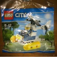 LEGO City series 30311 swamp police helicopter polisi seri