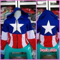 Jaket Anak Captain America / Kapten Amerika