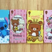 Sony Xperia Z3 Hello Kitty Rilakkuma Stitch cartoon glitter case