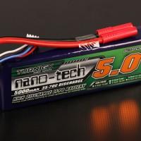 Battery Lipo Turnigy nanotech 5000mah 3S 35~70C Lipo Pack
