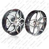 harga Velg Racing Lebar Power Star Tarantula Vario 150 Palang 5 Hitam Chrome Tokopedia.com