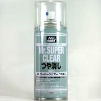 Mr color B514 - Mr Super Clear Flat - cat Gundam model kit spray can