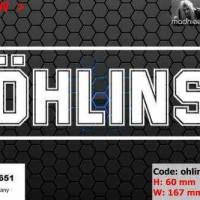 harga Ea Cutting Sticker / Decal    Code: Ohlins 2    ( Sponsor Logo ) Tokopedia.com