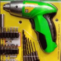 Bor Obeng Elektrik Charger tanpa Kabel - Sellery Cordless Screwdriver