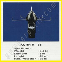Paket Penangkal Petir KURN Radius 85 Meter