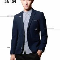Jual jas blazer Blue Skinny Suit SK84, jaket , hoodie , kemeja Murah