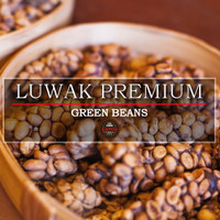 Jual Green Bean/ Biji Kopi Arabica LUWAK PREMIUM Murah