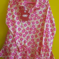 baju branded matahari/dress anak/branded mall/baju curly