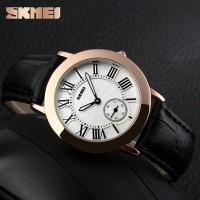 jam tangan cewe fashion branded skmei strap Kulit watch