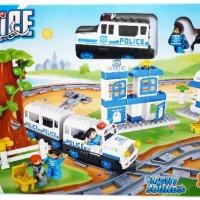 Mainan Bayi Anak Police Train Set