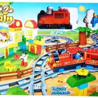 Mainan Bayi Anak Train Set 77