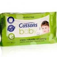 harga Tisu Basah Cussons Baby Naturally Refreshing 50's Tokopedia.com