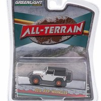 Greenlight Jeep Wrangler 2012 Putih All terrain seri 2
