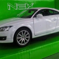 Diecast Mobil Audi TT Coupe 1:24 (Welly NEX)