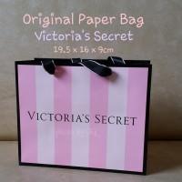 Jual ORIGINAL Paper Bag Victoria's Secret ukuran kecil victoria lotion mist Murah