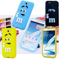 Samsung Galaxy Note2 Case M And M TPU Case M&M For Note II 2