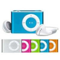 MP3 SHUFFLE MERK VOTRE Body Aluminium Mp3 PLAYER