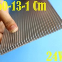 30W DIY Aquascape Aquarium LED HPL Heatsink Aluminum P 60Cm L13Cm T1Cm
