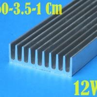 12W DIY Aquarium Aquascape LED HPL Heatsink Aluminum P 60Cm L35mm T1cm