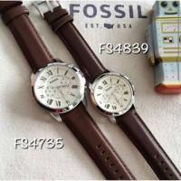 Fossil FS4735 & FS4839 Grant Original   Jam Tangan Fossil Couple ORI!