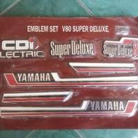 emblem sett yamaha v80 superdeluxe
