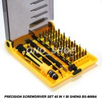 Precision Screwdriver Set 45 In 1 Bi Sheng BS-6089A