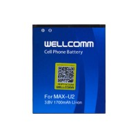 Wellcomm Battery Double Ic Untuk Smartfren Andromax U2