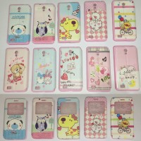 FLIPCOVER CASING CASE OPPO JOY 3 DISNEY