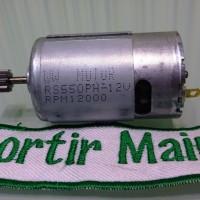 Dinamo Gearbox Mobilan Aki Anak / Part Motor / Dinamo Mobilan Aki 12V