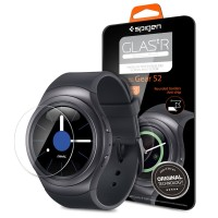 SPIGEN GLAS.tR SLIM Tempered Glass Screen Protector Samsung Gear S2