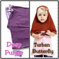 Jual handmade hijab anak turban butterfly Murah
