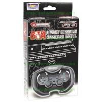 PS3 Dragonpro GTA 6 Pivot Sensitive Gamepad Wheel