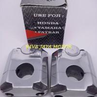harga Raiser Stang Peninggi Tegak Cnc Crom Motor Sport Honda Yamaha Tokopedia.com