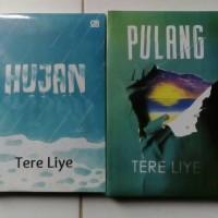 Paket 2 Novel Tere Liye ( HUJAN dan PULANG)