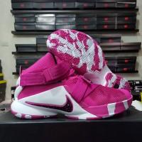 89a8b210079 sepatu basket nike lebron soldier 9 think pink