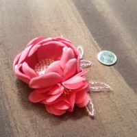 floriah pink hijab headpiece bros cantik simple murah