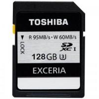 Toshiba SD Card Exceria U3 (R95MB / S & W60MB / S) 128GB