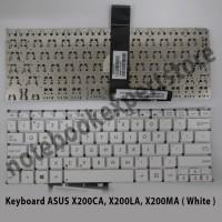 Keyboard ASUS X200CA, X200LA, X200MA ( White )