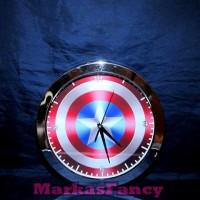 Jam Dinding Captain America