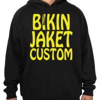 Jaket Hoodie + Design suka suka / Custom