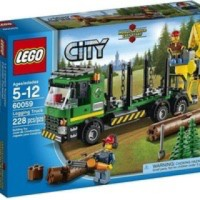 Toys LEGO City Logging Truck 60059