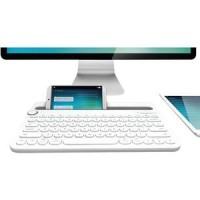 Logitech Bluetooth Multi Device Keyboard K480 Putih -Original