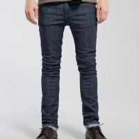 Nudie Jeans Tube Tom Rinsed Open Indigo
